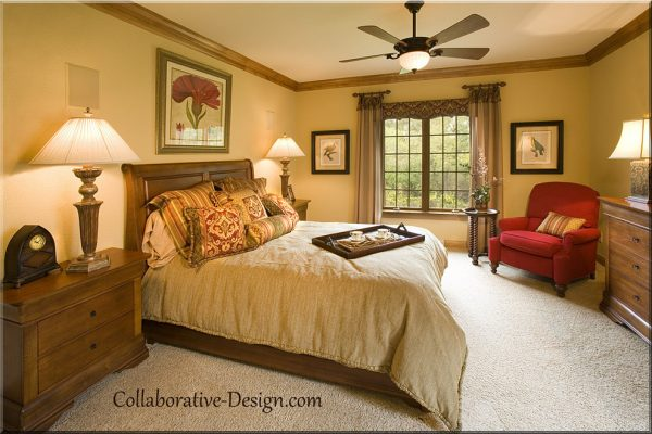 bedroom decorating ideas and designs Remodels Photos Collaborative Design Waukesha Wisconsin United States traditional-bedroom1