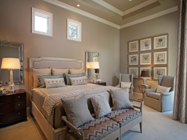 bedroom decorating ideas and designs Remodels Photos Collins & DuPont Design Group Bonita Springs Florida United States contemporary-bedroom-003