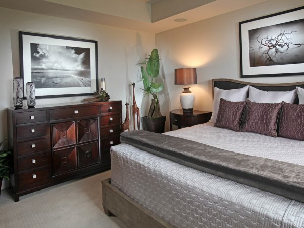bedroom decorating ideas and designs Remodels Photos Collins & DuPont Design Group Bonita Springs Florida United States contemporary-bedroom-004