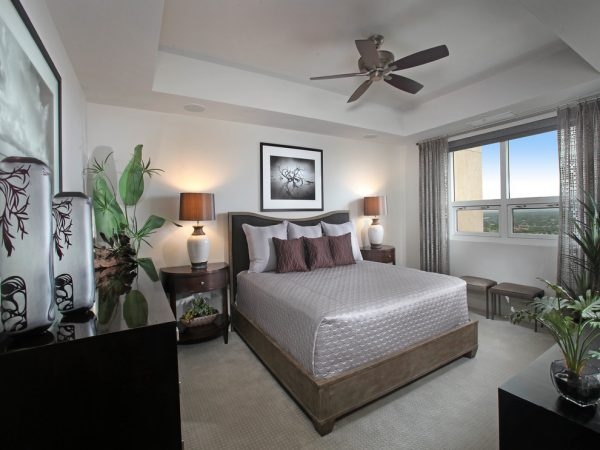 bedroom decorating ideas and designs Remodels Photos Collins & DuPont Design Group Bonita Springs Florida United States contemporary-bedroom-007
