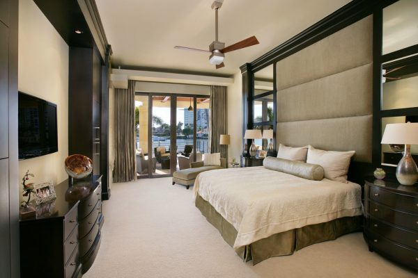 bedroom decorating ideas and designs Remodels Photos Collins & DuPont Design Group Bonita Springs Florida United States contemporary-bedroom
