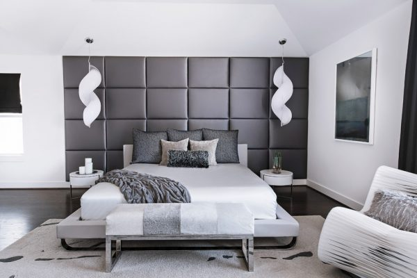 bedroom decorating ideas and designs Remodels Photos Contour Interior Design, LLC Houston Texas united states modern-bedroom