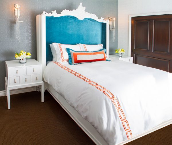 bedroom decorating ideas and designs Remodels Photos Dannielle Albrecht Designs Los Angeles California United States eclectic-bedroom-001