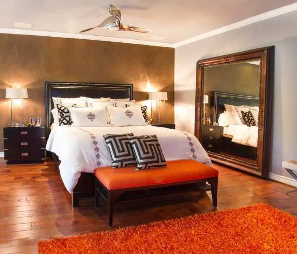 bedroom decorating ideas and designs Remodels Photos Dannielle Albrecht Designs Los Angeles California United States eclectic-bedroom