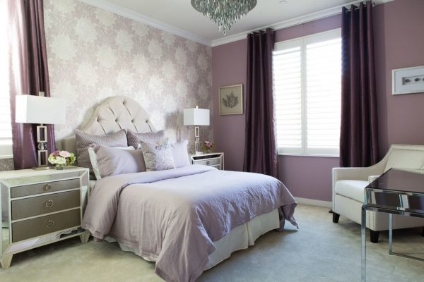 bedroom decorating ideas and designs Remodels Photos Dannielle Albrecht Designs Los Angeles California United States transitional-bedroom