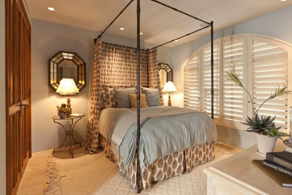 bedroom decorating ideas and designs Remodels Photos Denise Morrison Interiors Santa Ana California united states eclectic-bedroom