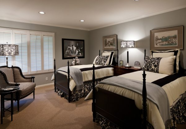 bedroom decorating ideas and designs Remodels Photos Denise Morrison Interiors Santa Ana California united states traditional-bedroom-004
