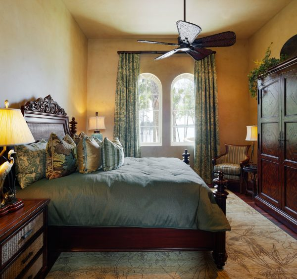 bedroom decorating ideas and designs Remodels Photos Denise Stringer Interior Design Hilton Head Island South Carolina mediterranean-bedroom-003
