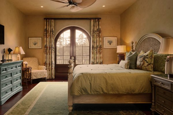 bedroom decorating ideas and designs Remodels Photos Denise Stringer Interior Design Hilton Head Island South Carolina mediterranean-bedroom-004