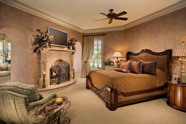bedroom decorating ideas and designs Remodels Photos Denise Stringer Interior Design Hilton Head Island South Carolina mediterranean-bedroom-005