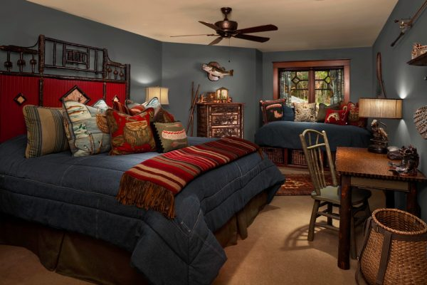 bedroom decorating ideas and designs Remodels Photos Denise Stringer Interior Design Hilton Head Island South Carolina rustic-bedroom