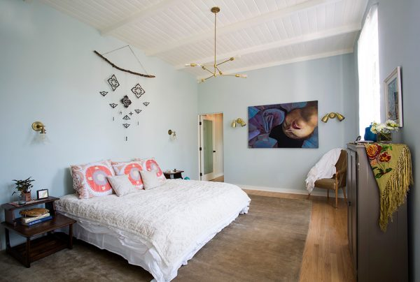 bedroom decorating ideas and designs Remodels Photos Design Vidal Los Angeles California United States eclectic-001