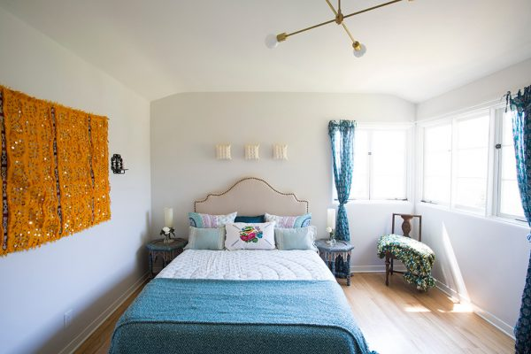 bedroom decorating ideas and designs Remodels Photos Design Vidal Los Angeles California United States eclectic-002