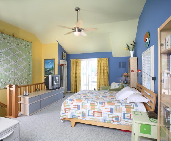 bedroom decorating ideas and designs Remodels Photos Designing Solutions Hillandale Maryland United States eclectic-bedroom-002