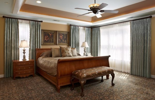 bedroom decorating ideas and designs Remodels Photos Designing Solutions Hillandale Maryland United States eclectic-bedroom-005