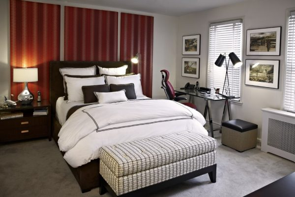 bedroom decorating ideas and designs Remodels Photos Designing Solutions Hillandale Maryland United States eclectic-bedroom-006