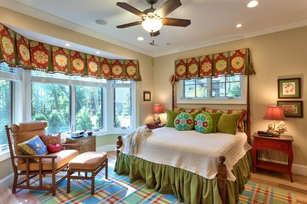 bedroom decorating ideas and designs Remodels Photos Dianne Davant and Associates Banner Elk North Carolina United States rustic-001