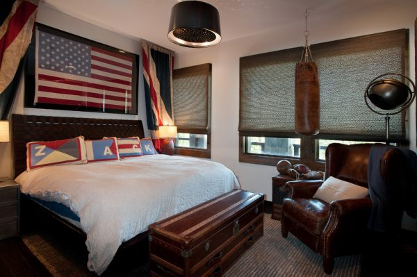 bedroom decorating ideas and designs Remodels Photos Dianne Davant and Associates Banner Elk North Carolina United States rustic-bedroom-002