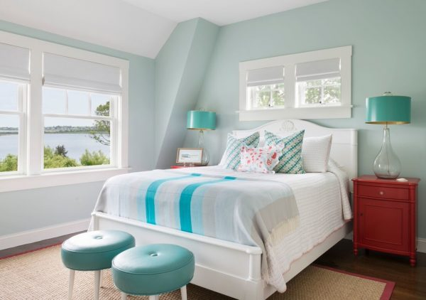 bedroom decorating ideas and designs Remodels Photos Digs Design Company Newport Rhode Island beach-style-bedroom