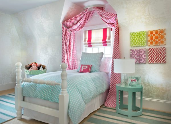 bedroom decorating ideas and designs Remodels Photos Digs Design Company Newport Rhode Island eclectic-kids