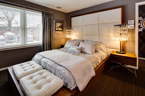 bedroom decorating ideas and designs Remodels Photos Dwelling Designs Minneapolis Minnesota United States contemporary-bedroom-001