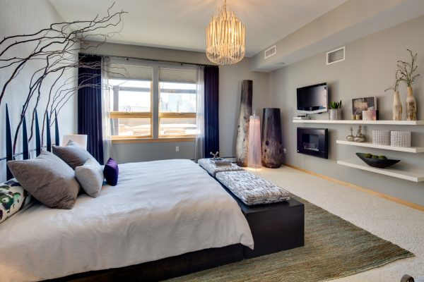 bedroom decorating ideas and designs Remodels Photos Dwelling Designs Minneapolis Minnesota United States modern-bedroom-003