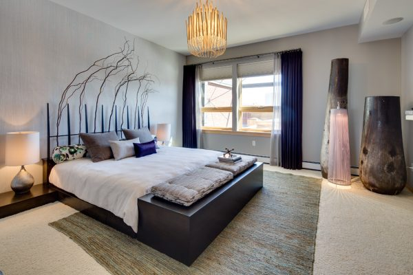 bedroom decorating ideas and designs Remodels Photos Dwelling Designs Minneapolis Minnesota United States modern-bedroom-004