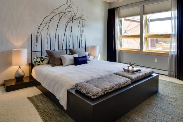 bedroom decorating ideas and designs Remodels Photos Dwelling Designs Minneapolis Minnesota United States modern-bedroom-005