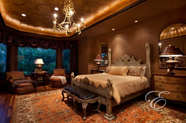 bedroom decorating ideas and designs Remodels Photos Eklektik Interiors Houston Texas united states mediterranean-bedroom
