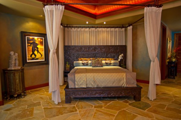 bedroom decorating ideas and designs Remodels Photos Eklektik Interiors Houston Texas united states tropical-001