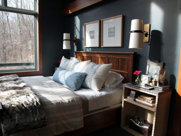 bedroom decorating ideas and designs Remodels Photos Elizabeth Reich Baltimore Maryland United States eclectic-bedroom-001