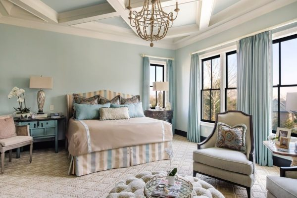 bedroom decorating ideas and designs Remodels Photos Eric Ross Interiors, LLC Franklin Tennessee United States contemporary-bedroom