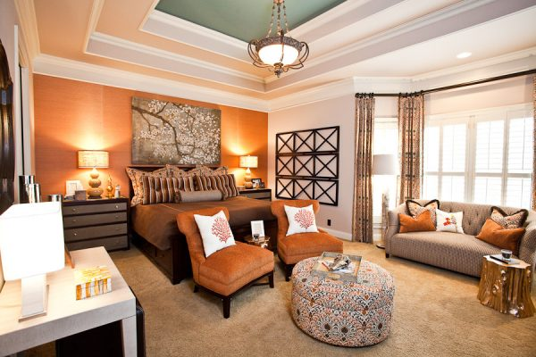 bedroom decorating ideas and designs Remodels Photos Eric Ross Interiors, LLC Franklin Tennessee United States eclectic-bedroom-001