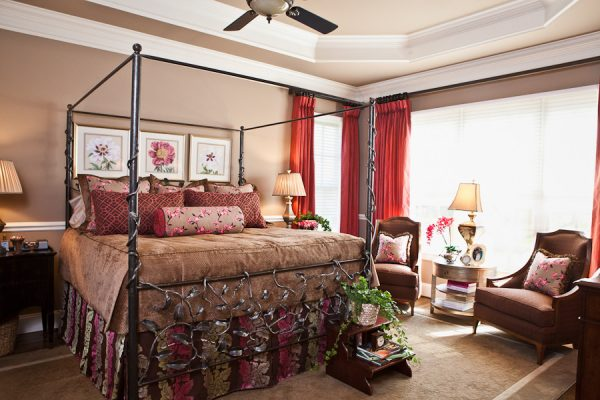 bedroom decorating ideas and designs Remodels Photos Eric Ross Interiors, LLC Franklin Tennessee United States eclectic-bedroom-002