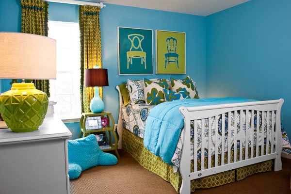 bedroom decorating ideas and designs Remodels Photos Eric Ross Interiors, LLC Franklin Tennessee United States eclectic-kids