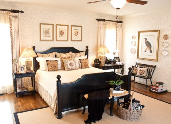 bedroom decorating ideas and designs Remodels Photos Eric Ross Interiors, LLC Franklin Tennessee United States traditional-bedroom-001