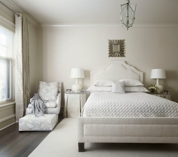 bedroom decorating ideas and designs Remodels Photos Eva Quateman Interiors Chicago Chicago United States transitional-bedroom-002