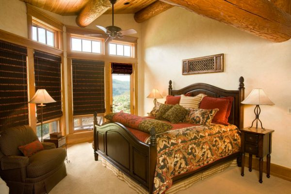 bedroom decorating ideas and designs Remodels Photos Finial Design Steamboat Springs Colorado United States traditional-bedroom-001