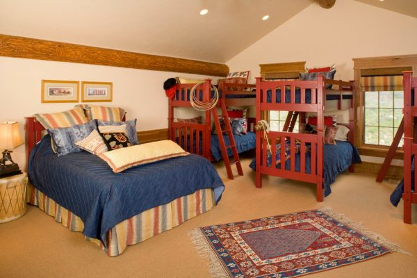 bedroom decorating ideas and designs Remodels Photos Finial Design Steamboat Springs Colorado United States traditional-kids