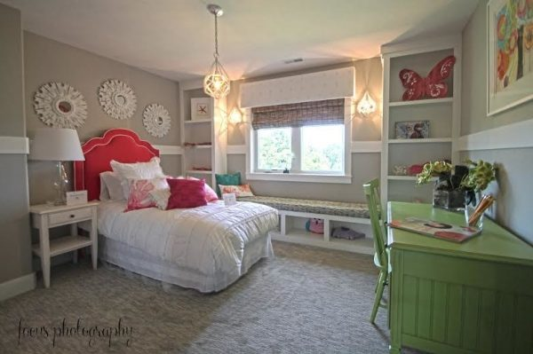 bedroom decorating ideas and designs Remodels Photos Fluff Interior Design Omaha Nebraska United States transitional-kids