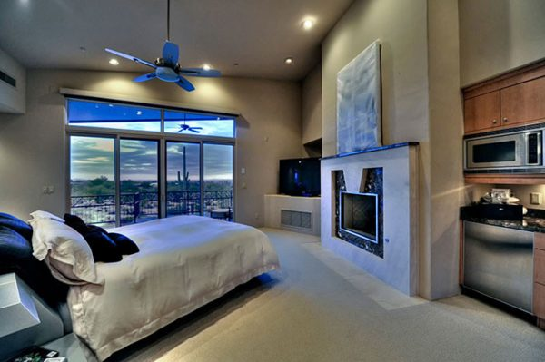 bedroom decorating ideas and designs Remodels Photos Fratantoni Interior Designers Scottsdale Arizona united states bedroom-010