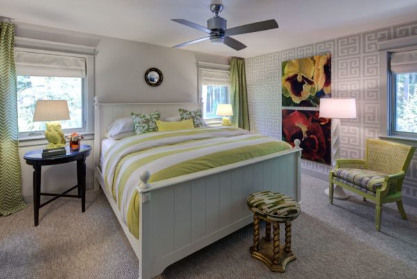 bedroom decorating ideas and designs Remodels Photos Fredman Design Group Chicago Illinois United States beach-style-bedroom