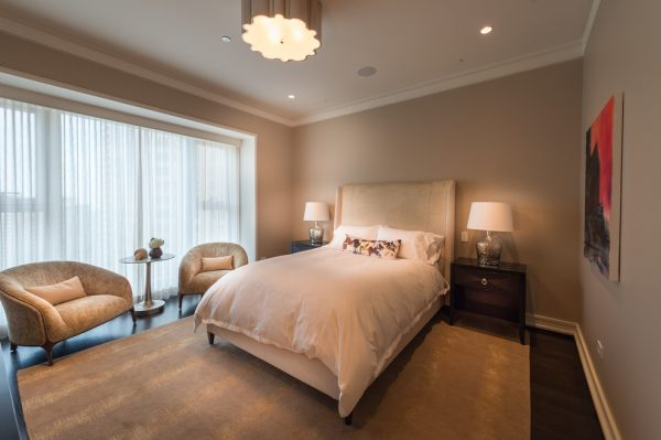 bedroom decorating ideas and designs Remodels Photos Fredman Design Group Chicago Illinois United States contemporary-bedroom-006
