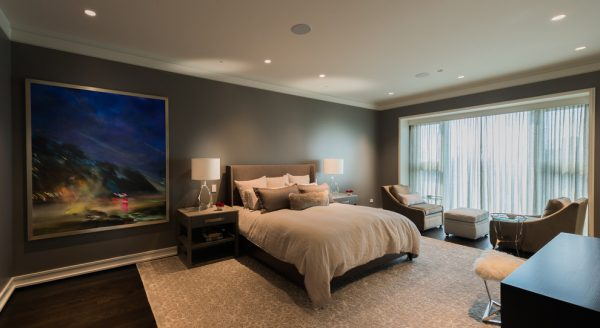 bedroom decorating ideas and designs Remodels Photos Fredman Design Group Chicago Illinois United States contemporary-bedroom-014