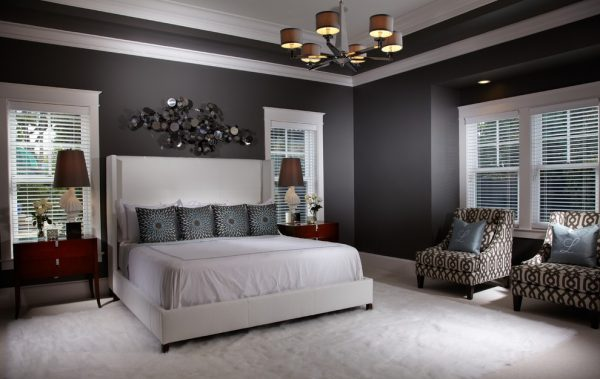 bedroom decorating ideas and designs Remodels Photos Freestyle Interiors Bonita Springs Florida United States contemporary-bedroom