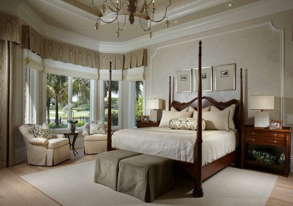bedroom decorating ideas and designs Remodels Photos Freestyle Interiors Bonita Springs Florida United States traditional-bedroom-003