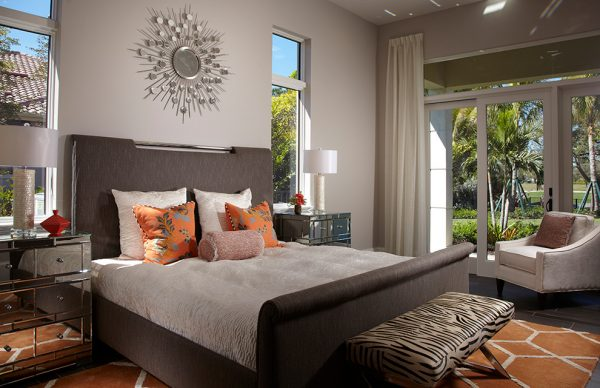 bedroom decorating ideas and designs Remodels Photos Freestyle Interiors Bonita Springs Florida United States transitional-bedroom