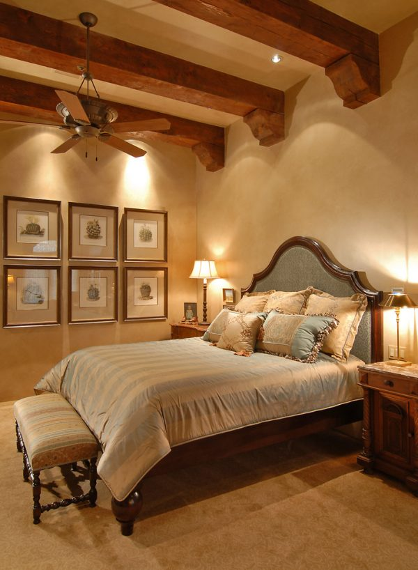 bedroom decorating ideas and designs Remodels Photos Friedman & Shields Scottsdale Arizona United States mediterranean-bedroom