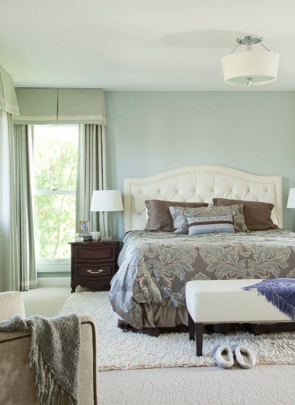 bedroom decorating ideas and designs Remodels Photos GEORGE Interior Design Mill Valley California United States traditional-bedroom