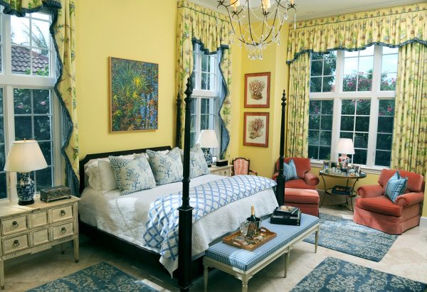 bedroom decorating ideas and designs Remodels Photos GIL WALSH INTERIORS West Palm Beach Florida United States traditional-bedroom-003